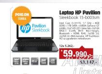 Laptop Pavilion Sleekbook 15-b003sm (C6T29EA)