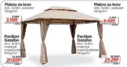 Paviljon - Gazebo