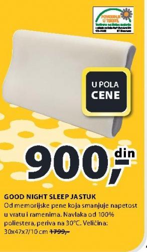 Jastuk Good Night Sleep