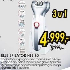 Epilator HLE60