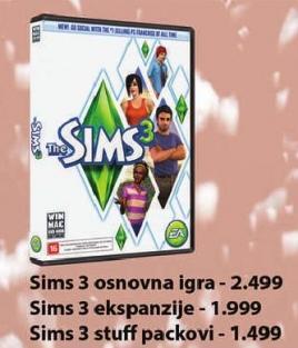 PC igra The Sims 3