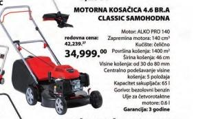 Motorna kosačica Classic samohodna 4.6 BR-A