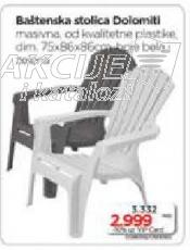 Baštenska stolica Doiomitl