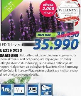 "Televizor LED 32"" UE32H5030"