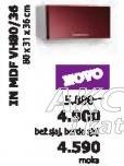 Kuhinjski element In Mdf Vh80/36