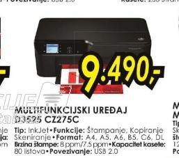 Multifunkcijski uređaj D3525 CZ275C