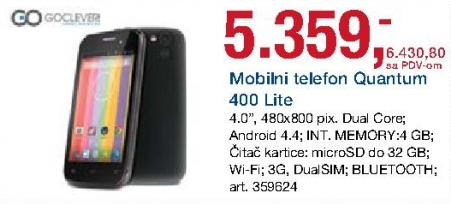 Mobilni telefon Quantum 400 Lite