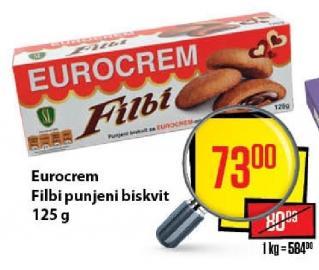 Biskvit eurokrem