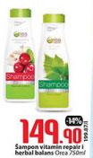 Orea šampon vitamin repair i herbal balans