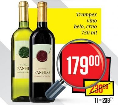 Crno vino Panfilo
