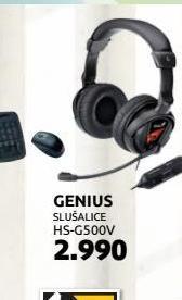 Slušalice HS-G500V