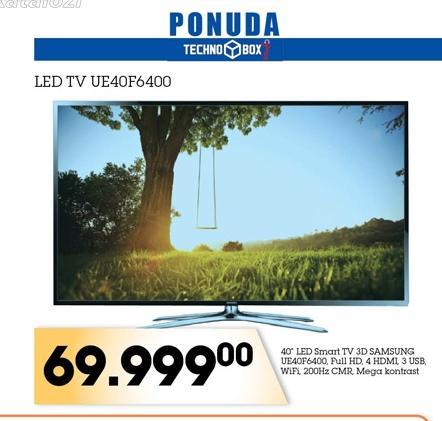 LED TV UE40F6400