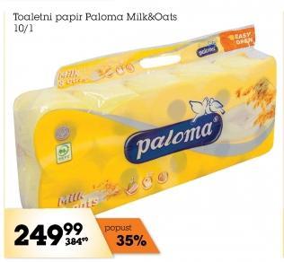 Toalet papir 3sl Milk&Oats