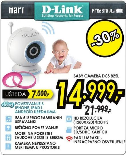 Baby kamera Dcs B25L D-Link