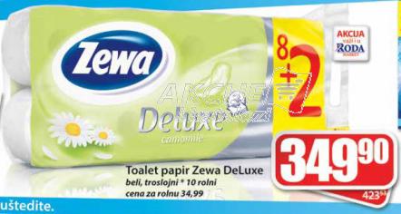 Toalet papir Deluxe 3sl 10/1