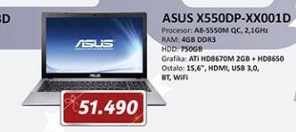 Laptop X550DP-XX001D