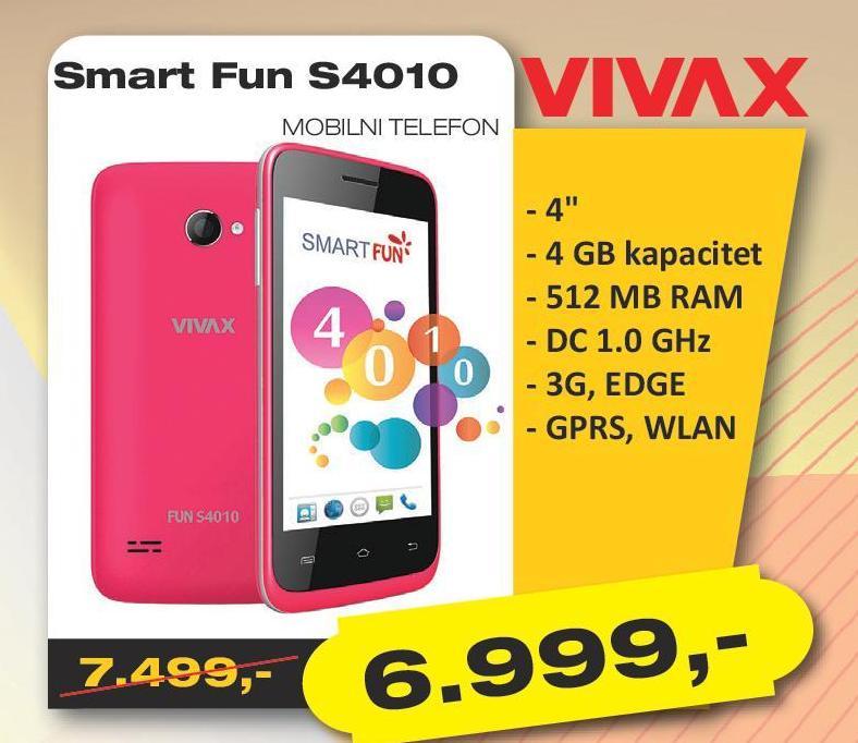 Mobilni telefon Smart Fun S4010