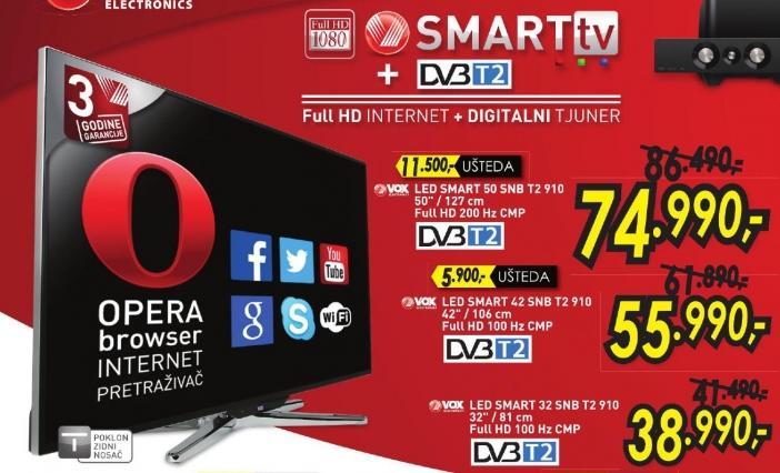 """Televizor LED 50"""" 50 Snb T2 910"""
