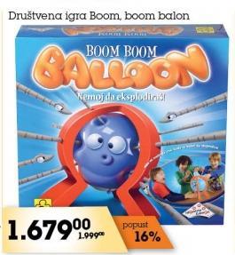 Društvena igra Boom,Boom Baloon