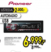 Autoradio MVH-150UI