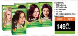 Lady in color Boja za kosu