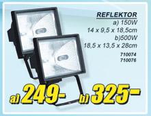 Reflektor 500W