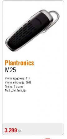Slušalica bluetooth M25 Multipoint