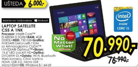 Laptop Satellite C55 A 1nk