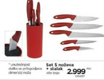 Nož set