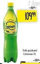 Gazirani sok Limona
