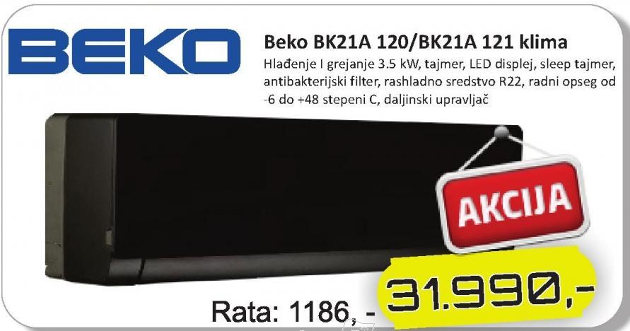 Klima BK21A 120/BK21A 121