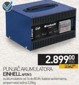 Punjač akumulatora AFEN 5