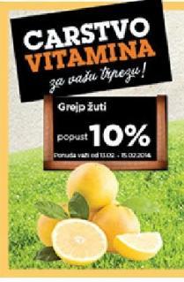 Grejp žuti popust 10%