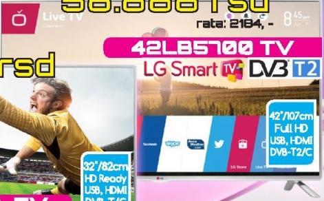"""Televizor LED 42"""" 42LB5700"""