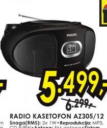 Radio kasetofon AZ305/12