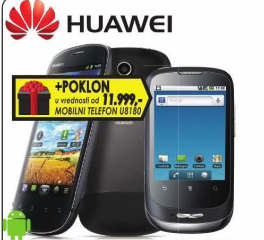 Mobilni telefon Huawei U8850 + Poklon  telefon U8180