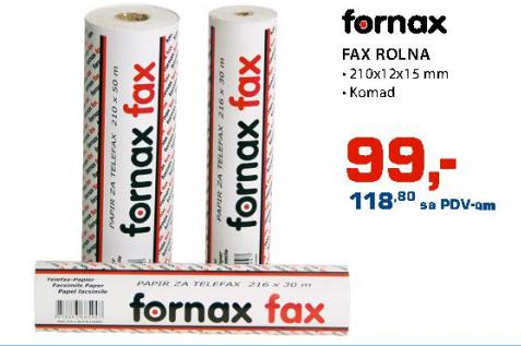 Fax folija FORNAX