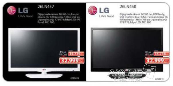 LED Televizor 26LN457