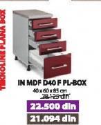 Kuhinjski element  In MDF D40F PL BOX