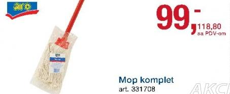 Mop komplet