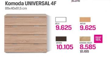 Komoda Universal 4f
