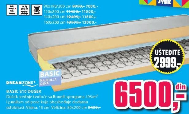 Dušek Basic S10 140x200
