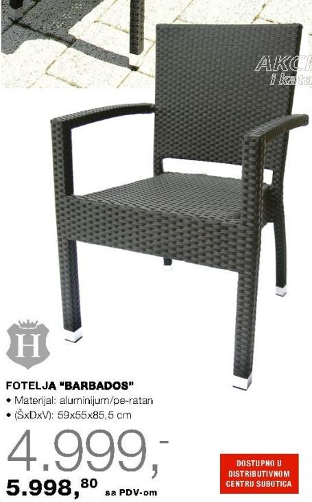 Fotelja Barbados