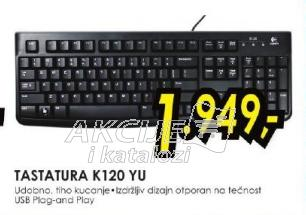 Tastatura K120 YU