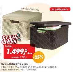 Kutija Ratan Style Box L