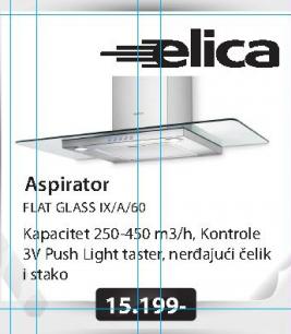 Aspirator FLAT GLASS IX/A/60