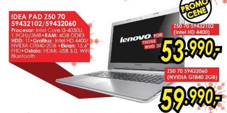 Laptop IdeaPad Z50 70 59432060