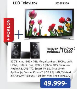 Televizor  LED UE-32F4500