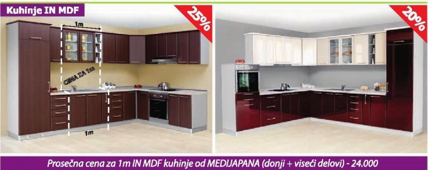 Kuhinje In Mdf