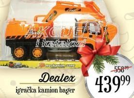 Igračka kamion bager